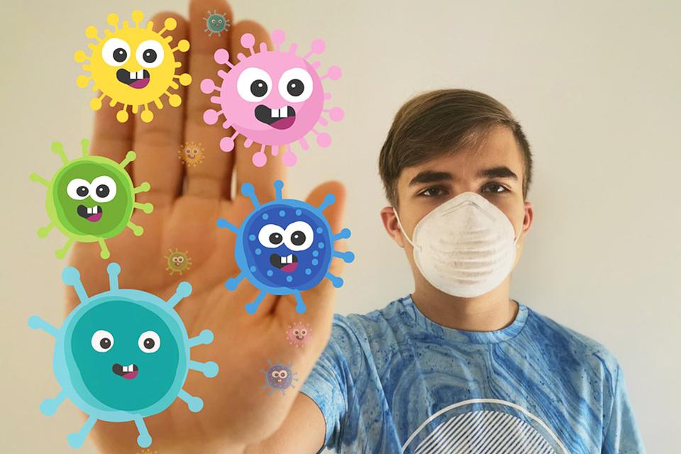 為免新冠病毒感染風險 戶外運動不只戴口罩還要多帶一個備用